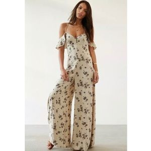 Urban Outfitters Kimichi Blue Jumpsuit Size 6